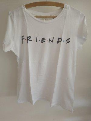 weißes Friends T-Shirt von H&M • Größe S