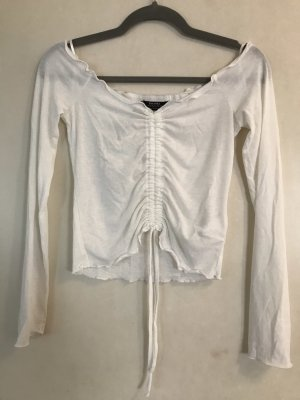 Bershka Carmen shirt wolwit