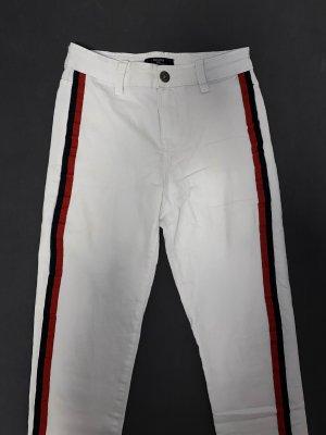 weißes gestreifte jeans