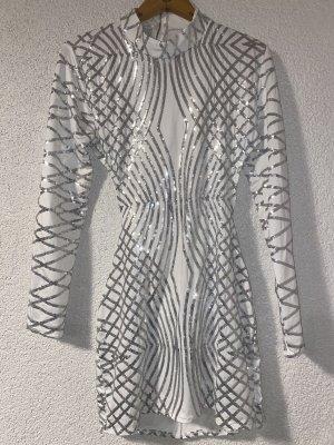 Weißes glitzer Kleid