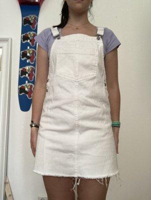 H&M Robe en jean blanc-blanc cassé