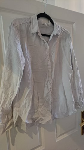 Weißes H&M Leinenhemd