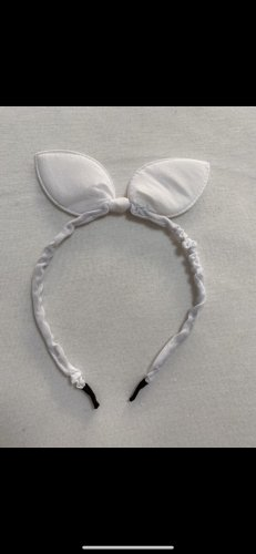 Hair Circlet white