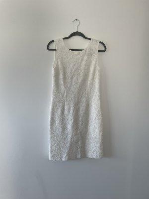 weißes Hallhuber Kleid Gr.38
