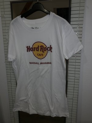 Weißes Hard Rock Café T-Shirt
