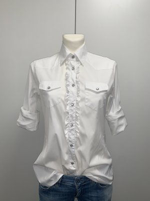 0039 Italy Long Sleeve Shirt white-grey brown