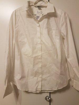 weißes Hemd mit einer Brusttasche Gr.40 H&M