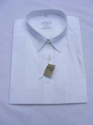 Shirt met lange mouwen wit Katoen