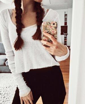 Weißes Hollister Shirt