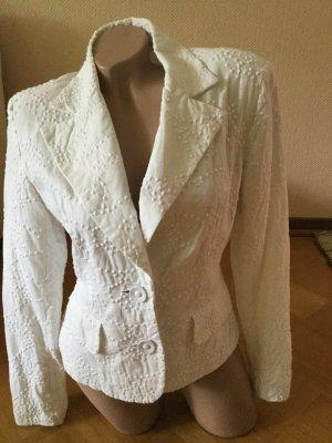 Weißes Jacket