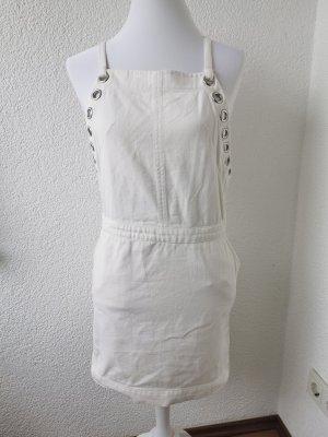 Weißes Jeans Kleid