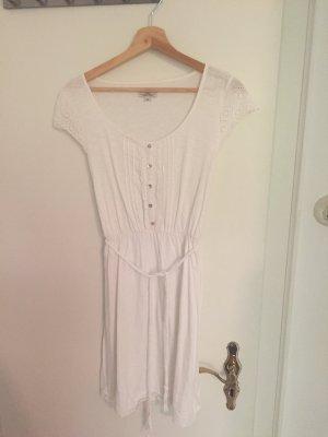 Weißes Jerseykleid von S.oliver