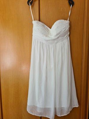 Vero Moda Bustier Dress white