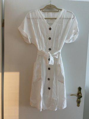 0039 Italy Chiffon Dress white-grey