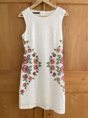 Weißes Kleid / Etuikleid von Desigual