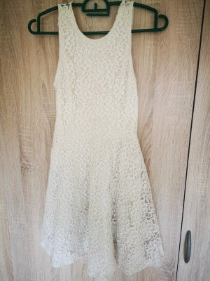 Abercrombie & Fitch Mini Dress natural white
