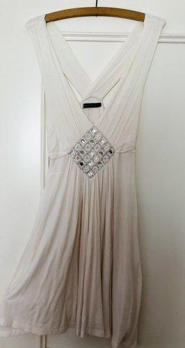 Weißes Kleid im Marilyn Monroe Style