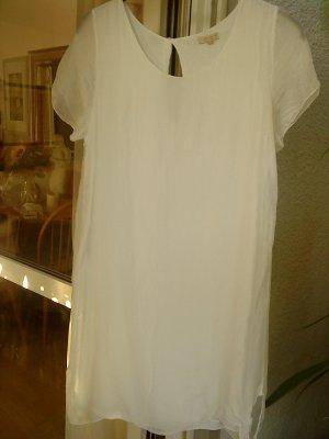 weißes Kleid mit Seide 38 Italy von GIUSY