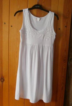 John Baner Robe t-shirt blanc coton