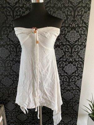 Weißes Kleid von MS Basic, Gr. M