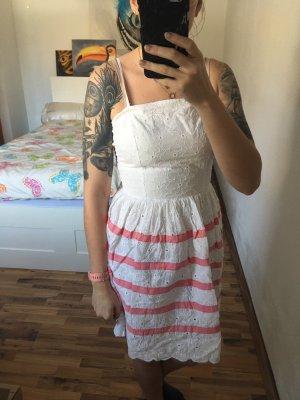 weißes kleid von naf naf