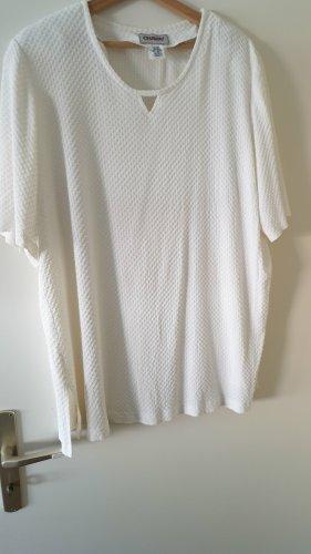 Weißes kurzärmeliges Shirt von Chalou