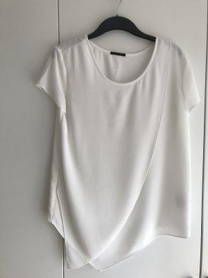 Weißes Kurzarm Shirt von Sisley
