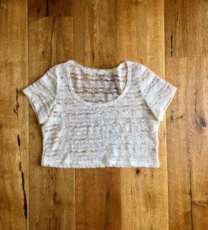 Weißes kurzes Shirt