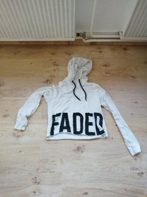 FB Sister Shirt met capuchon wit-zwart