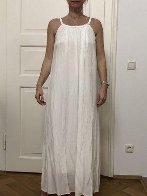 Weißes langes Kleid in XS/S