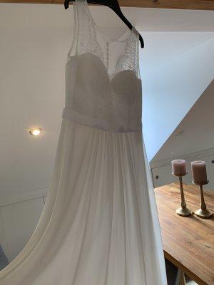 Weißes, langes Marken-Kleid *neu*