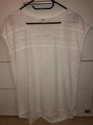 Weißes leichtes Tshirt