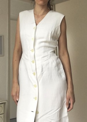 Bernd Berger Blouse Dress white-natural white linen