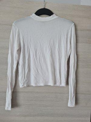 weißes Longshirt