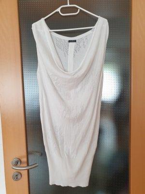 weißes Longshirt Longshirt Größe M motivi