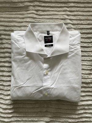 Olymp Camicia a maniche lunghe bianco
