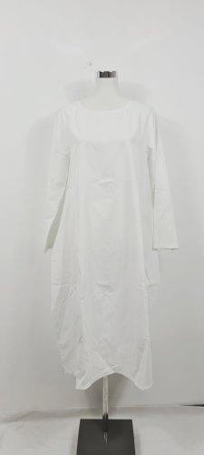 Weißes Maxikleid-Tunika/ Größe L-XL/ Oversize/ Zustand: Neu ohne Etikett