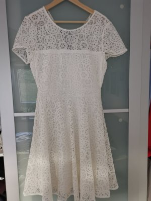 weißes MIDI Kleid wie neu