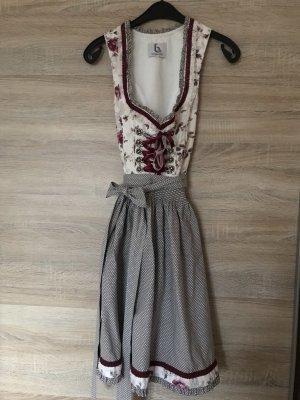 bergweiss Vestido Dirndl multicolor