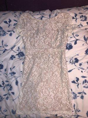 weißes Minikleid