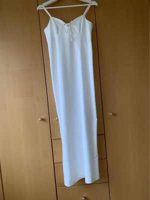 More & More Sukienka gorsetowa biały Tkanina z mieszanych włókien