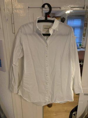 Weißes Oversized Hemd