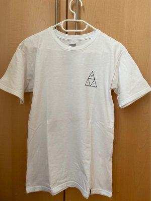 weißes ovesized T-Shirt