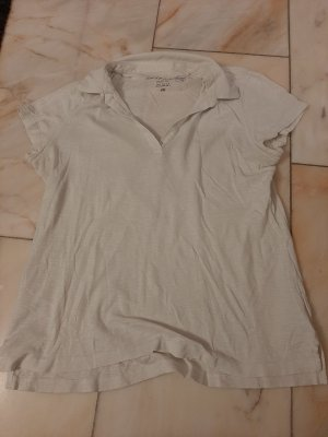 H&M Polo shirt wit