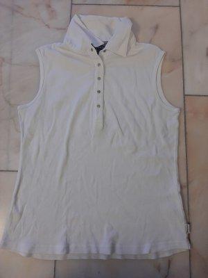 Street One Blusa tipo Polo blanco