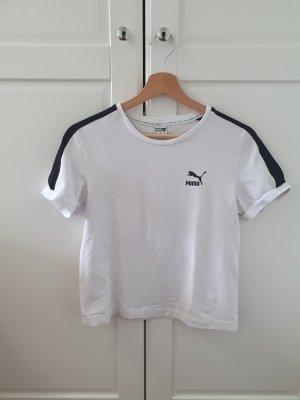 Weißes Puma T-shirt
