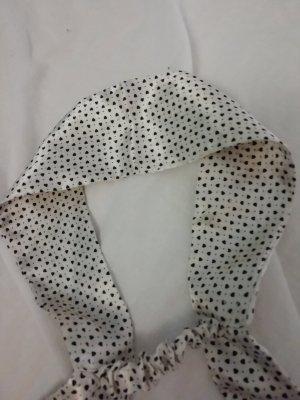 H&M Nastro per capelli bianco-nero