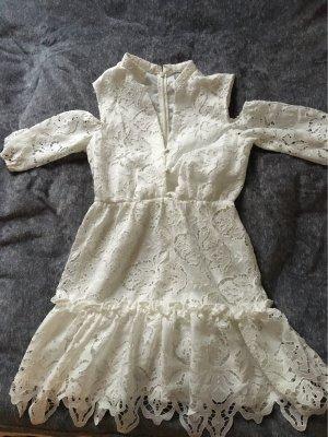 Weißes schickes Kleid