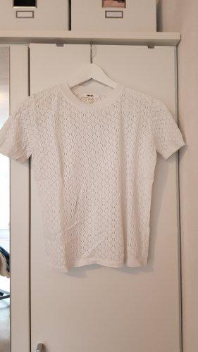 weißes schickes shirt