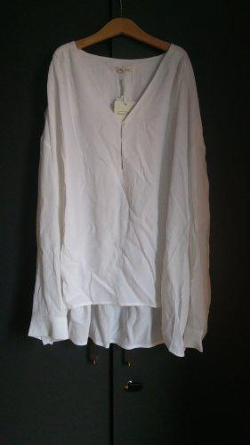 American Vintage Blouse met lange mouwen wit-wolwit Viscose